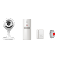 WIFI IP CAMERA WITH ALARM SYSTEM- KIT