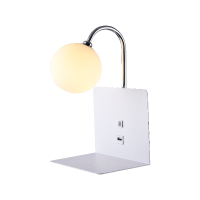 BETTY VÄGGLAMPA 1xG9 WITH USB VIT