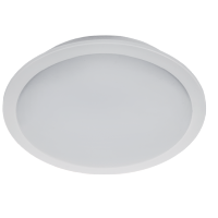 LED-PANEL RUND VATTENTÄT 10W 6400K D150 IP65