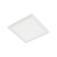 STELLAR LED-PANEL 40W 6400K 595X595mm, VIT RAM MED NÖDSTOPP