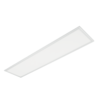 STELLAR LED-PANEL 40W 4000K 295X1195mm, VIT RAM MED NÖDSTOPP